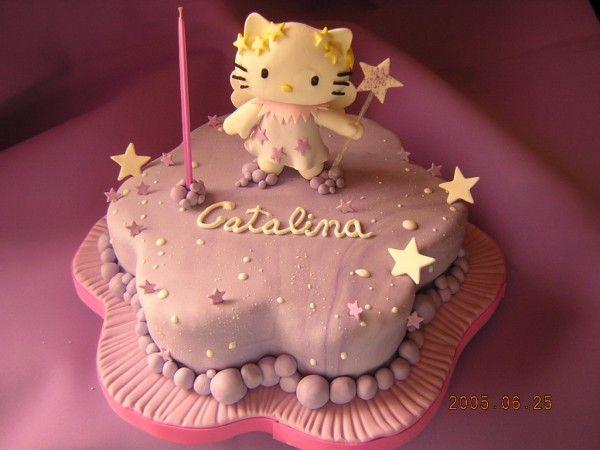 Fotolog de planetadulce: Torta Decorada Hello Kitty