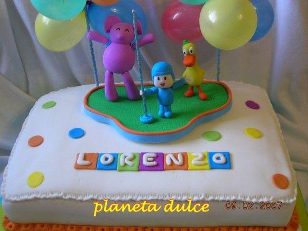 Fotolog de planetadulce - Foto - Pocoyo Tortas Decoradas: Pocoyo Tortas Decoradas